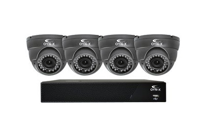 Qvis Nitro 1080N 8 Channel 1TB CCTV Kit with 4 AHD 2MP Cameras