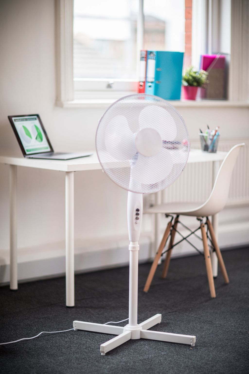 "Mercury 16"" Pedestal Fan 3 Speed Office"