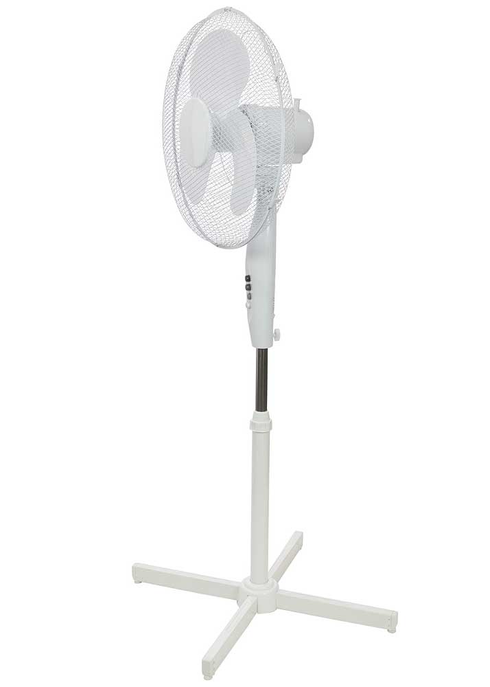 "Mercury 16"" Pedestal Fan 3 Speed Side"