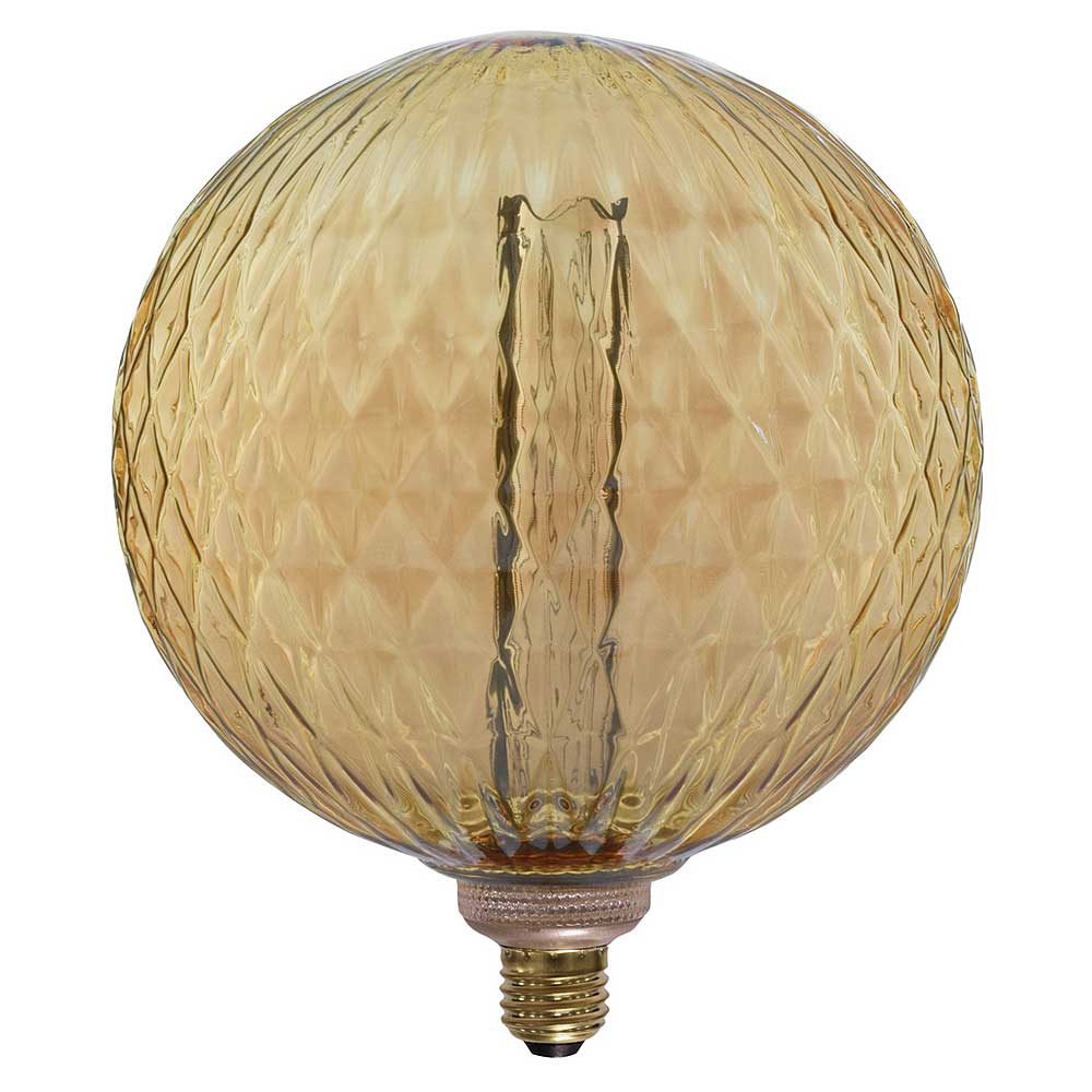 Lyyt 3.5W ES/E27 G200 Textured LED Filament Dimmable Lamp