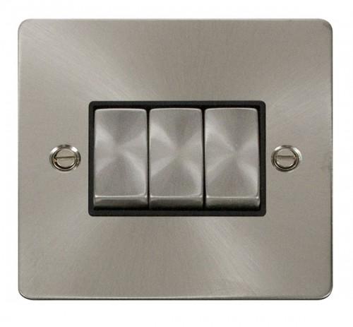 Fpbs413bk Ingot 10ax 3 Gang 2 Way Switch