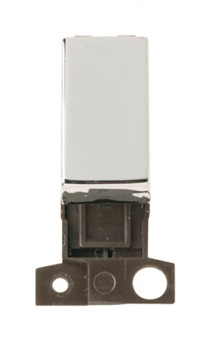 MD004CH 2 Way Retractive Ingot 10A Switch Chrome