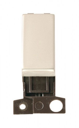 MD004PN 2 Way Retractive Ingot 10A Switch Pearl Nickel