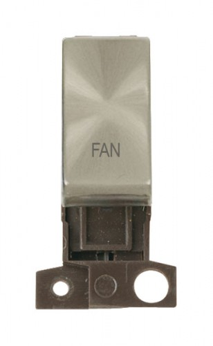 MD018BSFN 13A Resistive 10AX DP Switch Brushed Stainless Steel Fan