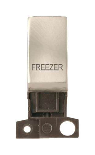 MD018SCFZ 13A Resistive 10AX DP Switch Satin Chrome Freezer