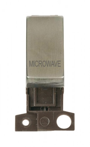 MD018SSMW 13A Resistive 10AX DP Switch Stainless Steel Microwave