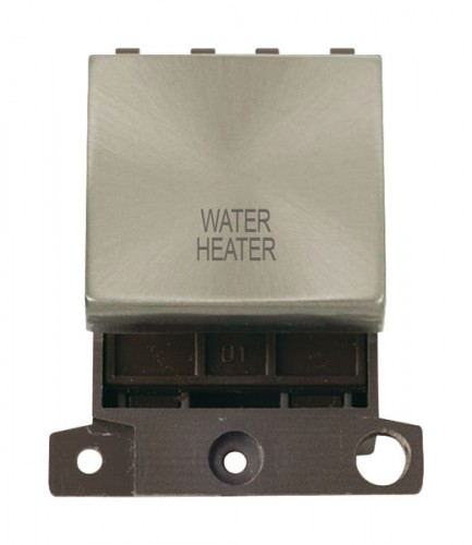 MD022BSWH 20A DP Ingot Switch Brushed Stainless Steel Water Heater