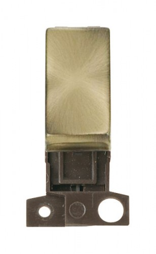 MD028AB 10AX Intermediate Ingot Switch Antique Brass