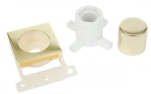 MD150BR Dimmer Module Mounting Kit Brass
