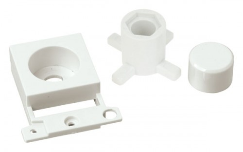 MD150WH Dimmer Module Mounting Kit Click White