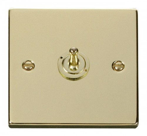 Scolmore Click Deco VPBR421 1 Gang 2 Way 10AX Toggle Switch