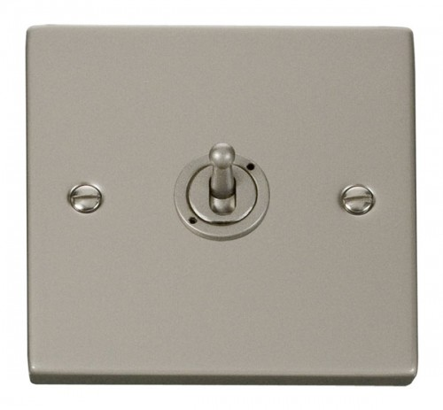 Scolmore Click Deco VPPN421 1 Gang 2 Way 10AX Toggle Switch